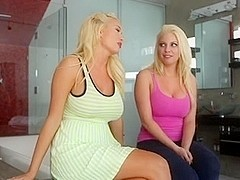 Summer Brielle and Britney Amber