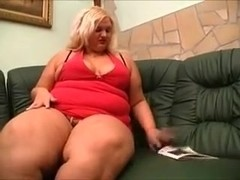 My obese wife shows her body and plays with her pussy