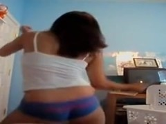 Stunning legal age teenager does web camera dance