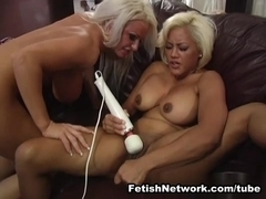 FetishNetwork Movie: Squirting on a Leather Couch
