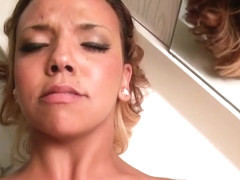 Hot pornstar pov with cumshot