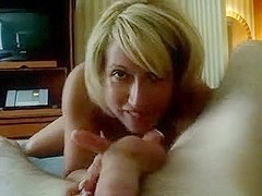 Mature finger prostate blow job
