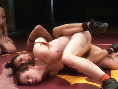 Isamar Dominates Round 2 For Team Nightmare Tag Match - Publicdisgrace