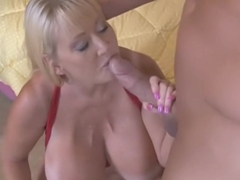 Best pornstar Kayla Kleevage in crazy blowjob, cumshots sex video
