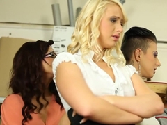Crazy pornstars Eliss Fire, Rachel La Rouge and Emylia Argan in fabulous group sex, blowjob porn m.