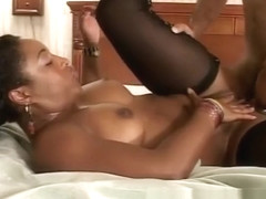 Ebony starlet wants to get pleasure from a rigid beaver basher