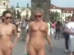 Crazy Czechs naked on Public Streets by jogj0308