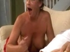 Sexy hand job compilation ends with long cumshots