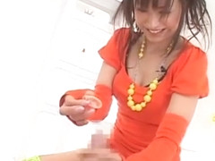 Crazy Japanese chick Misaki Mori in Amazing Stockings/Pansuto, Cowgirl JAV scene