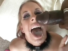 Foxy blonde Milf gets picked up for hot fucking and cum swallowing