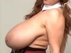big beautiful woman Unbelievably Large Melons Exam