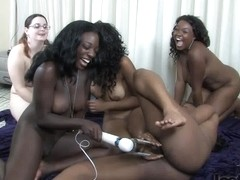 Strip Spin the Bottle with Amani Serena Jessie Alicia and Tiana