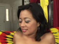 Amazing pornstar Lucky Starr in best hairy, creampie adult movie