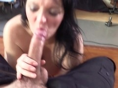 Devon in Cop Fucked Amateur Model in the Arse - FakeCop