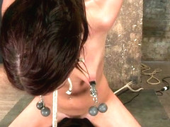 Cassandra Nix & Isis Love in Cassandra Nix Live Show Part 3 - HogTied