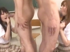 Best Japanese whore Cocomi Naruse, Fuuka Minase in Fabulous College/Gakuseifuku JAV clip