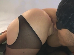 Best pornstar in Incredible Stockings, German adult video