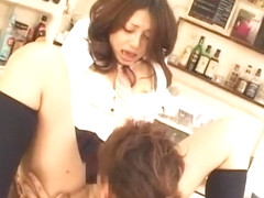 Horny Japanese slut Yuuna Takizawa in Best Couple, Cunnilingus JAV movie