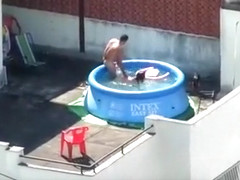 Best homemade neighbor, doggystyle, swimming pool xxx movie