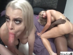 Nadia White Savanah Styles in Private Video From A Night Club 4-Way Fucking - NadiaWhite