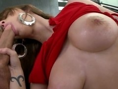 Busty Karina White pleasures her nasty hubby