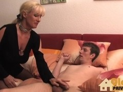 German blonde mature