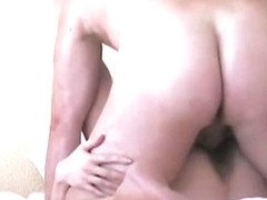Peter and anna in a horny fuck after a clit rubbing