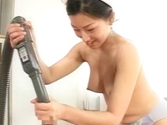 Exotic Japanese whore in Incredible Cumshots, POV JAV movie