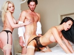 Tamara Grace,Jasmine Jae,Max Gambero in A Country Retreat Scene Scene