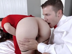 First time anal for cute prom queen Nickey