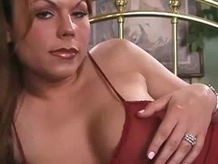 Tcutie in red lingerie fucks dude hard