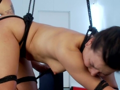 Part 2: Juliette gets ass-fucked with an electric metal cock!