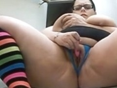 big beautiful woman Chunky Squirting on Stairs... Cookie Play