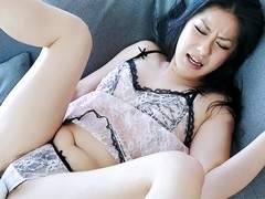 Hottest Japanese girl Kyoka Ishiguro in Fabulous JAV uncensored Lingerie scene