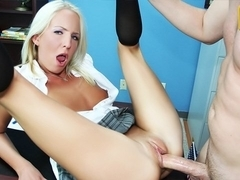 Eden Adams in No Panties In The Office