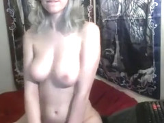 Cute Blonde With Big Boobs Solo
