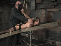 Amber is Bound and Face Fucked