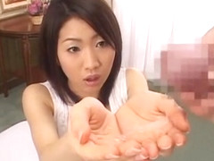 Exotic Japanese whore Akari Satsuki in Crazy POV, Cumshots JAV scene