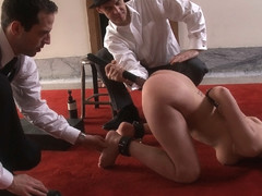 Cherry Torn & Sarah Shevon in Service Sessions: Slave Workout - TheUpperFloor