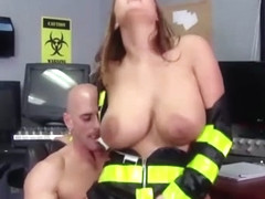 Big TITS in uniform - Trina Michaels Johnny Sins - Nuclear Tits to the rescue - Brazzers