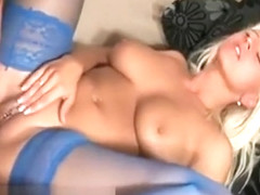 Blonde With A Pierced Slit Gets Boned