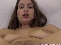 Lelu Love-Closeup Asshole Puckering Pussy Spreading