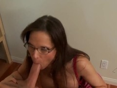 Danny Wylde gets blowjob from teacher Syren De Mer