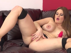 Best pornstar Allison Moore in Crazy Big Tits, Masturbation xxx clip