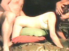 Incredible exclusive blindfolded, cellphone, brunette xxx clip