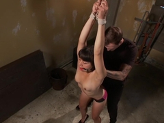 Fabulous fetish porn scene with hottest pornstars Milcah Halili and Christian Wilde from Dungeonsex
