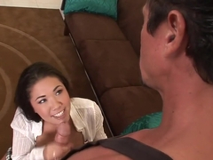 Horny pornstar London Keyes in exotic tattoos, teen porn movie