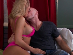 Johnny Sins called an appetizing slut with big boobs and his ex-wife came