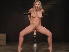 Fabulous fetish sex movie with hottest pornstar from Fuckingmachines