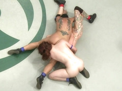 Round 3 Of The August Live Tag Teambrutal Submissions, Crushing Leg Scissors. - Publicdisgrace